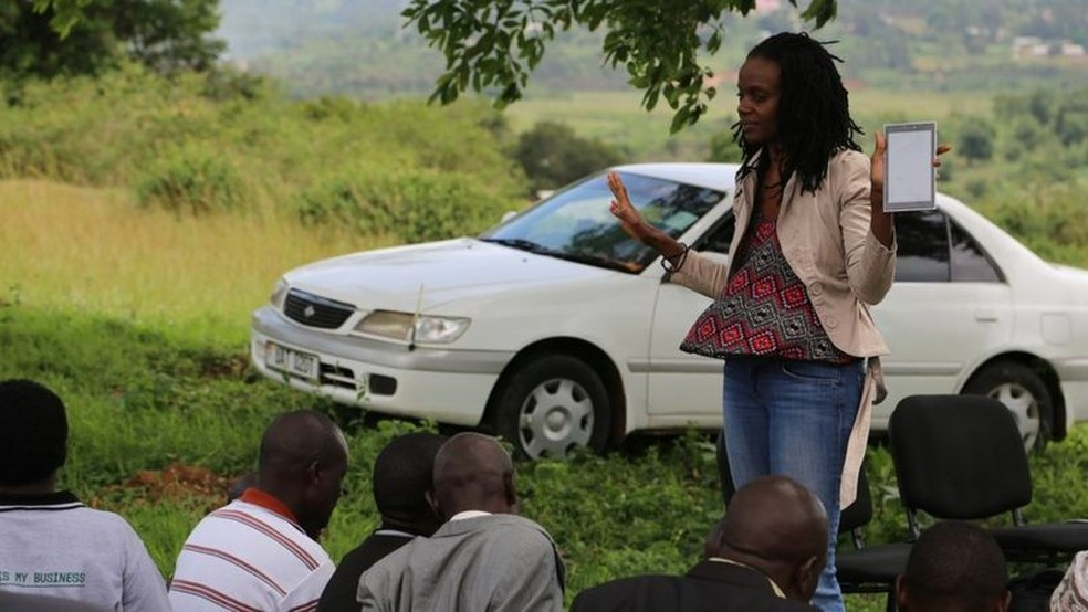 Foto: Catherine Nakalembe via BBC