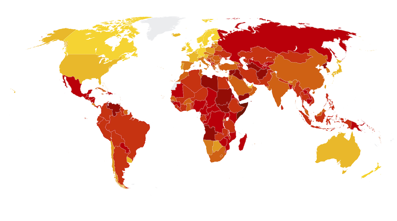 Corruption Perceptions Index 2017 Shows High Corruption Burden In More Than Two-Thirds of Countries