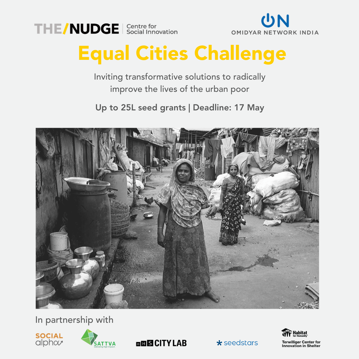 Inviting ideas under Equal Cities Challenge