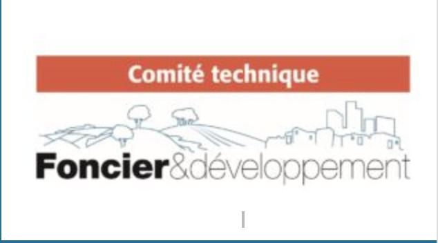 Comité technique foncier developpement