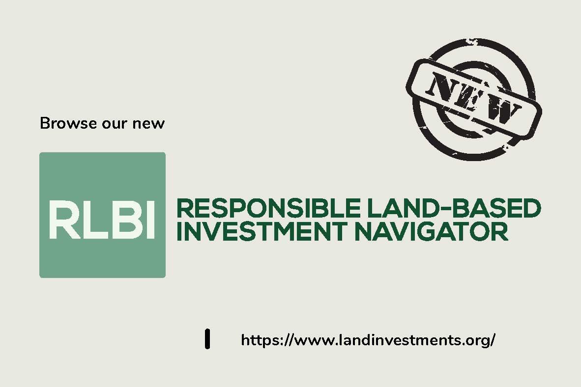 Responsible Land-Based Investment Navigator
