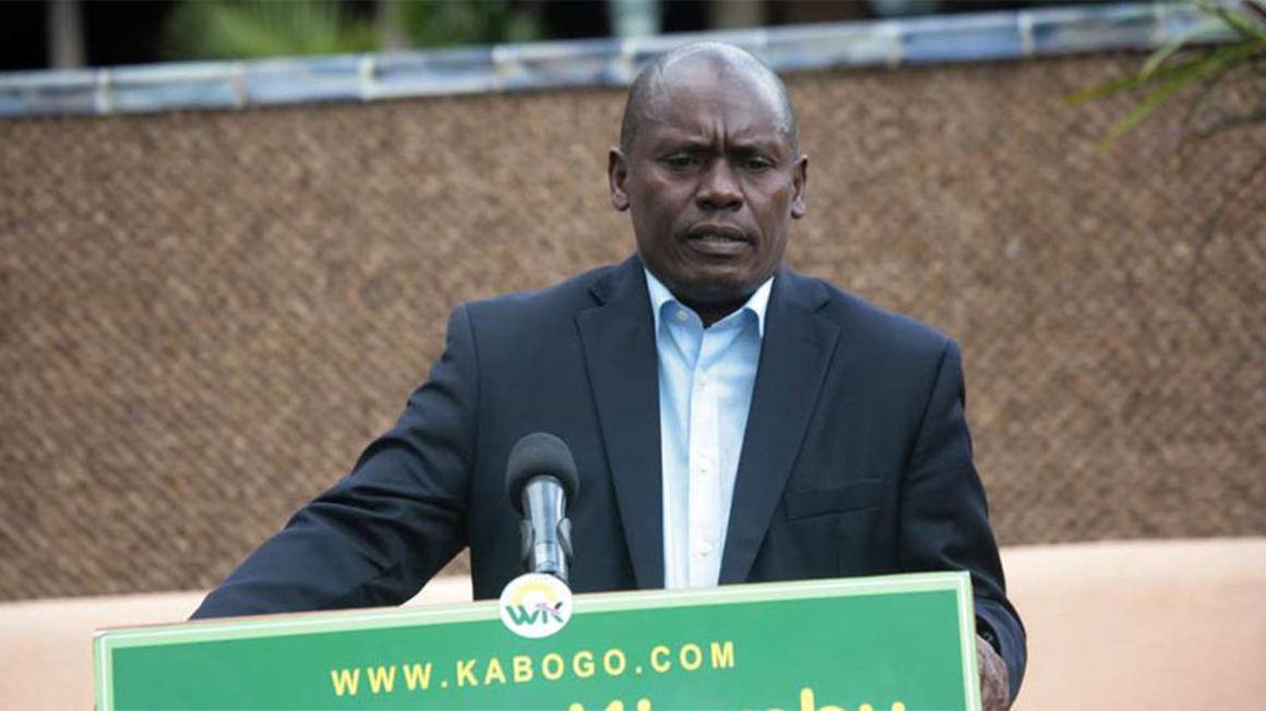 Former Kiambu Governor William Kabogo. FILE PHOTO | NMG