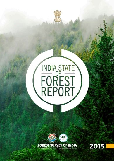 India State of Forest Report 2015