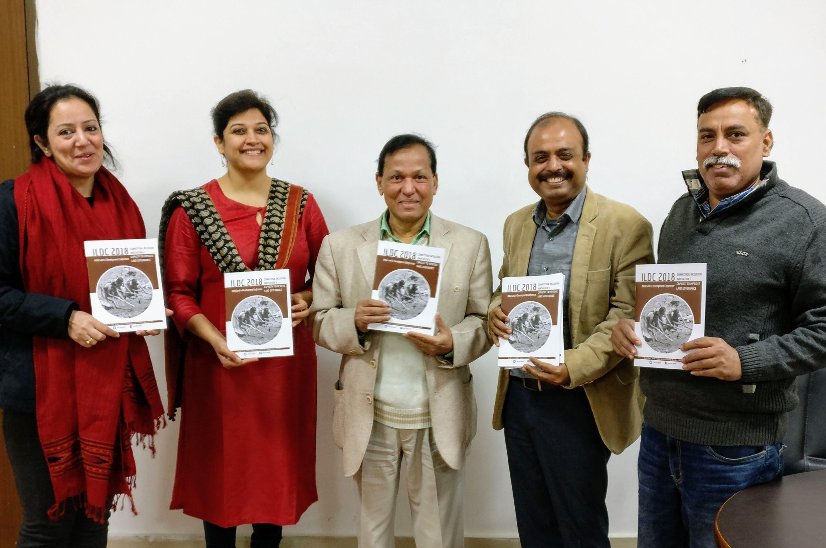 Dr. Tajamul Haque at ILDC 2018