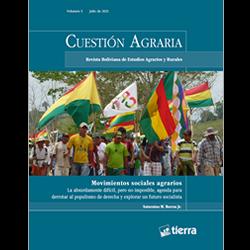 Cuestión Agraria N 5_Movimientos Sociales Agrarios
