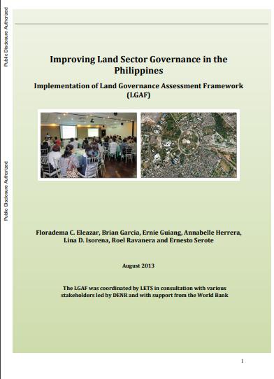 Philippines_ land governance