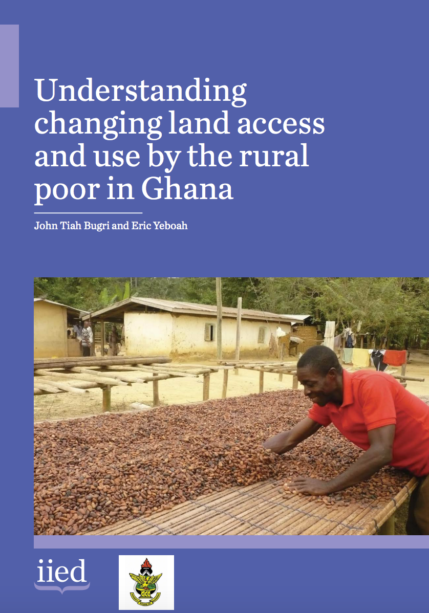 Understanding changing land access and use by the rural poor in Ghana cover image