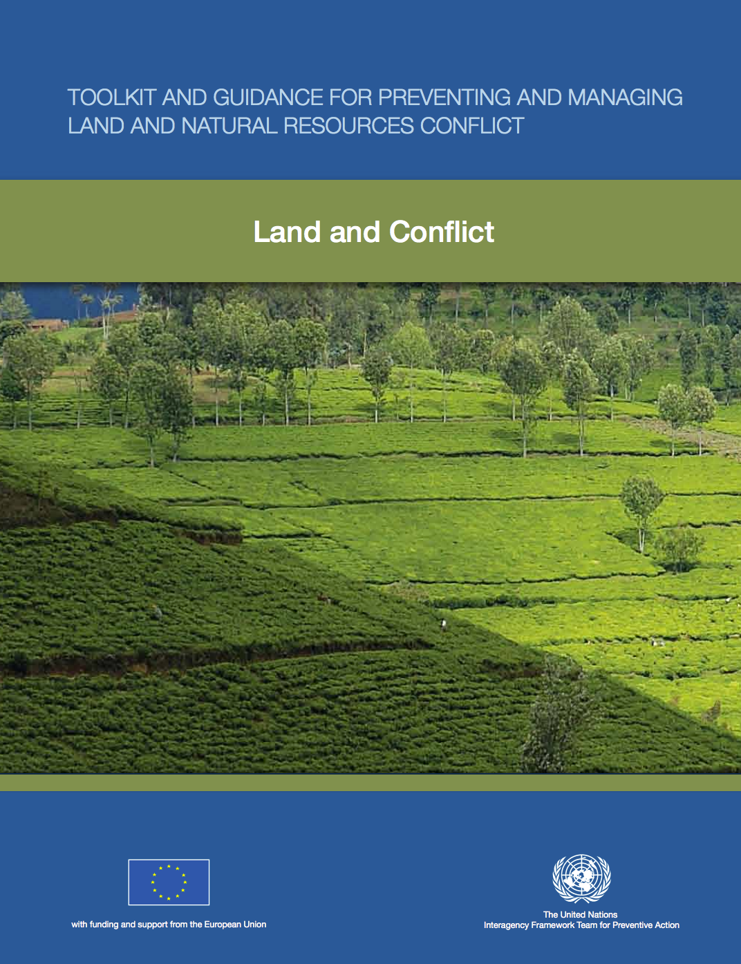 Toolkit and Guidance for Preventing and Managing Land and Natural Resources Conflict cover image