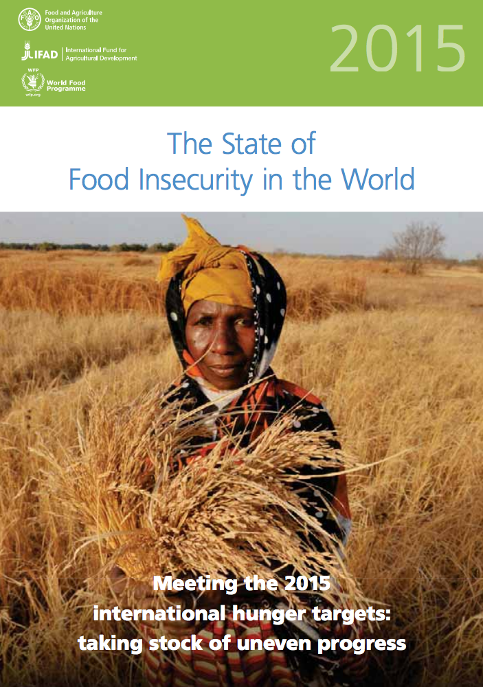 The State of Food Insecurity in the World 2015 cover image