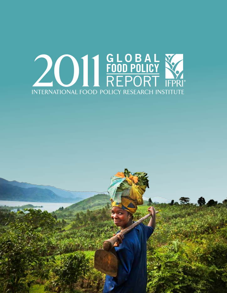 Global Food Policy Reports 2011 cover image