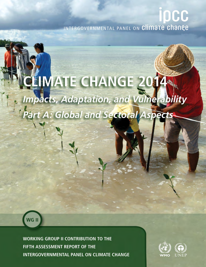 Climate Change 2014: Impacts, Adaptation, and Vulnerability part A cover image
