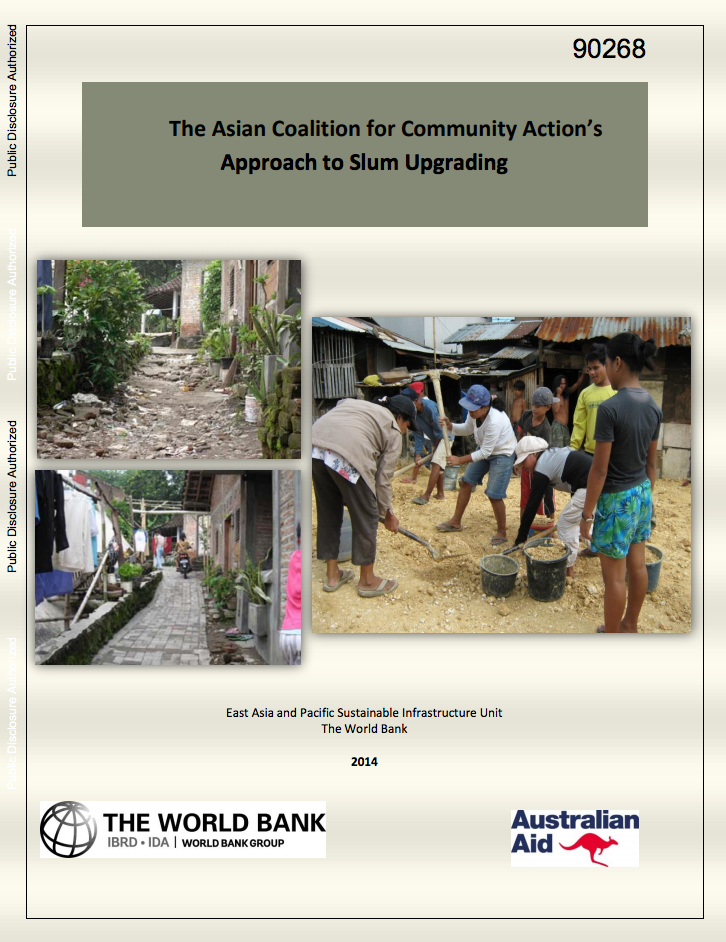 The Asian Coalition for Community Action's Approach to Slum Upgrading cover image