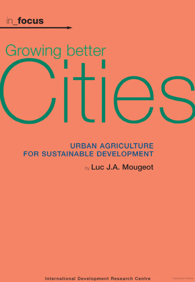 Growing better cities cover image