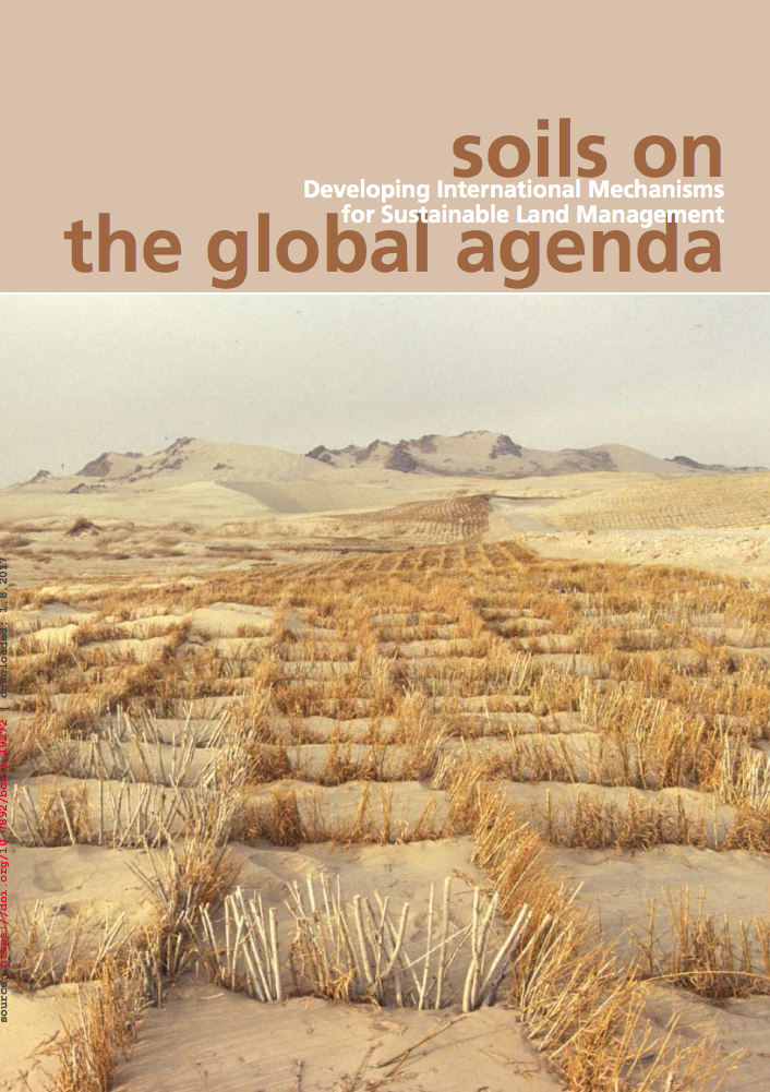 Soils on the global agenda: developing international mechanisms for sustainable land management cover image