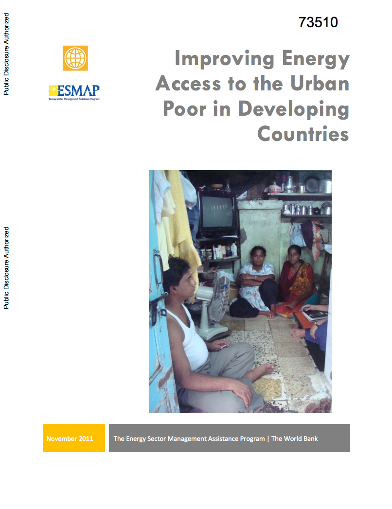 Improving Energy Access to the Urban Poor in Developing Countries cover image