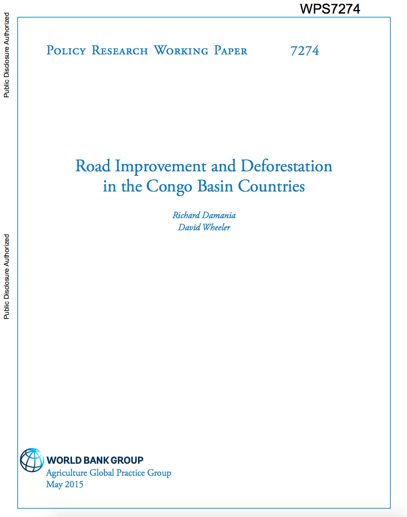 Road Improvement and Deforestation in the Congo Basin Countries cover image