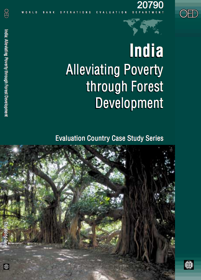 India : Alleviating Poverty through Forest Development cover image