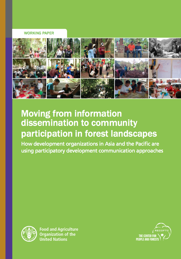 Moving from information dissemination to community participation in forest landscapes cover image