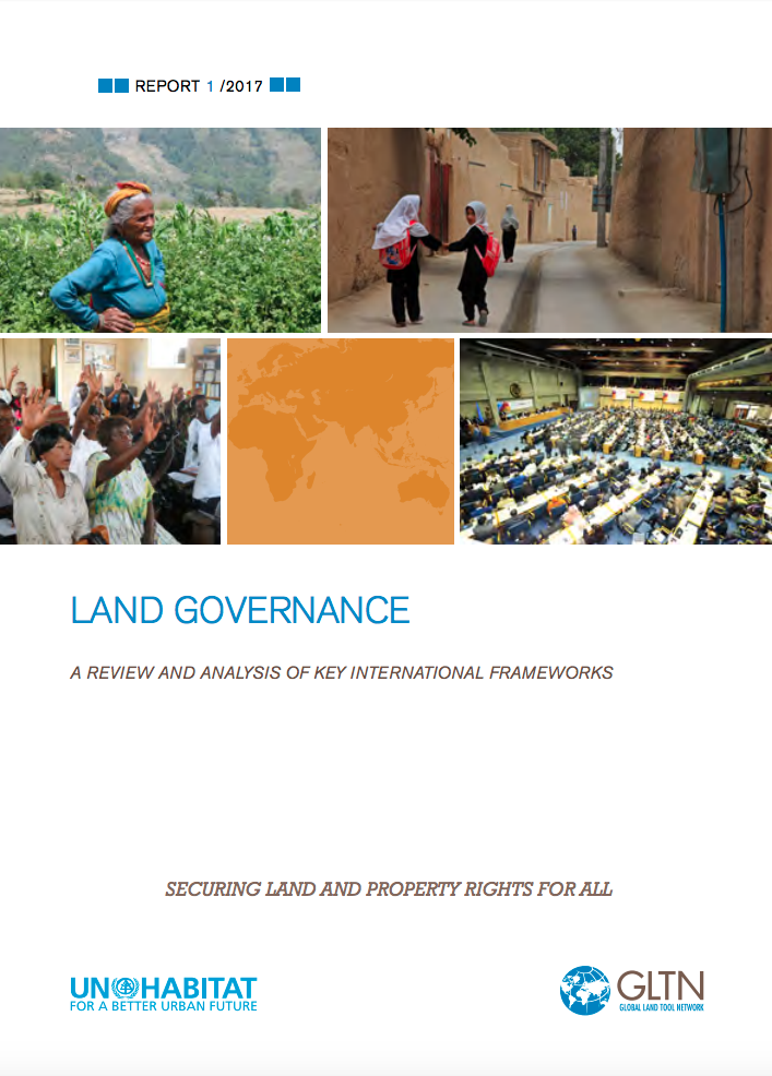 Land Governance: A Review and Analysis of Key International Frameworks cover image