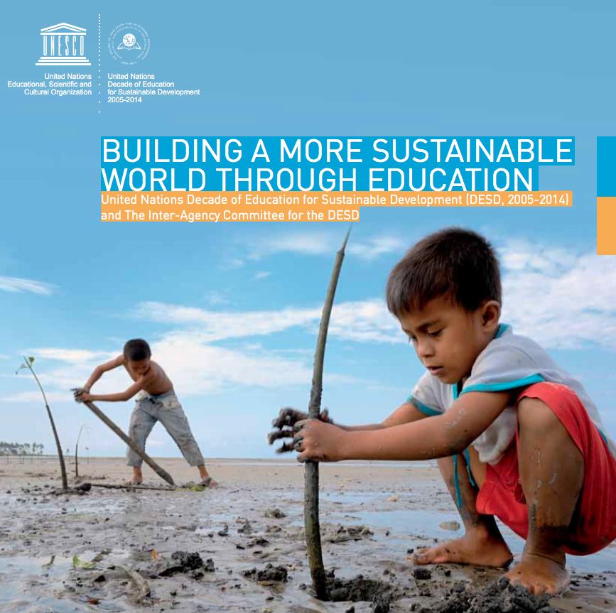 Building a more sustainable world through education cover image