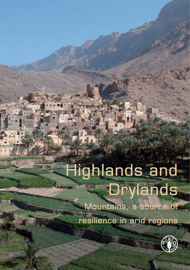 Highlands and Drylands Mountains, a source of resilience in arid regions cover image