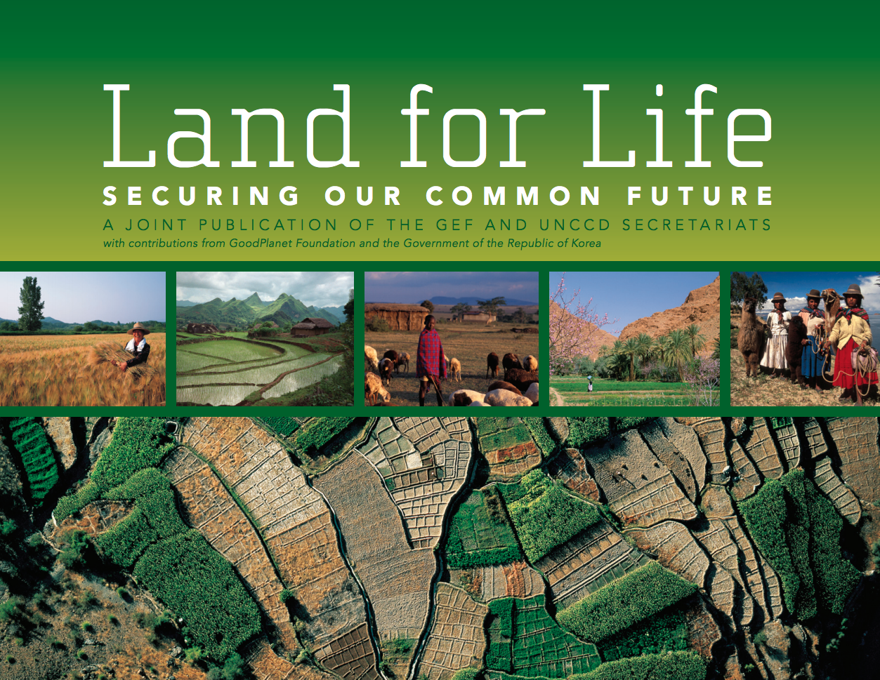 Land for Life: Securing Our Common Future cover image