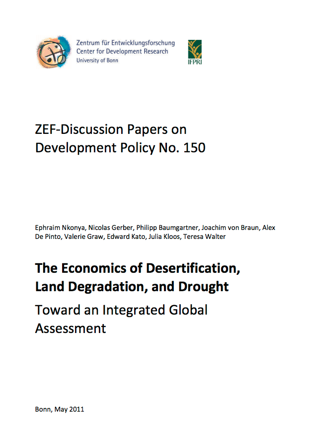 The Economics of Desertification, Land Degradation, and Drought cover image