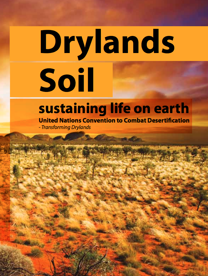 Drylands Soil: Sustaining Life on Earth cover image