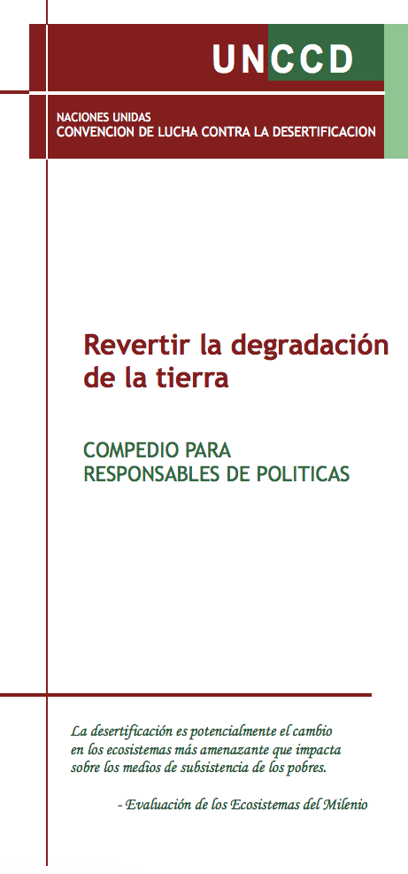 Revertir la degradación de la tierra cover image