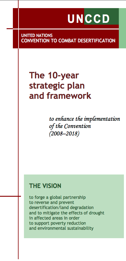 The 10-year strategic plan and framework to enhance the implementation of the Convention (2008–2018)  cover image