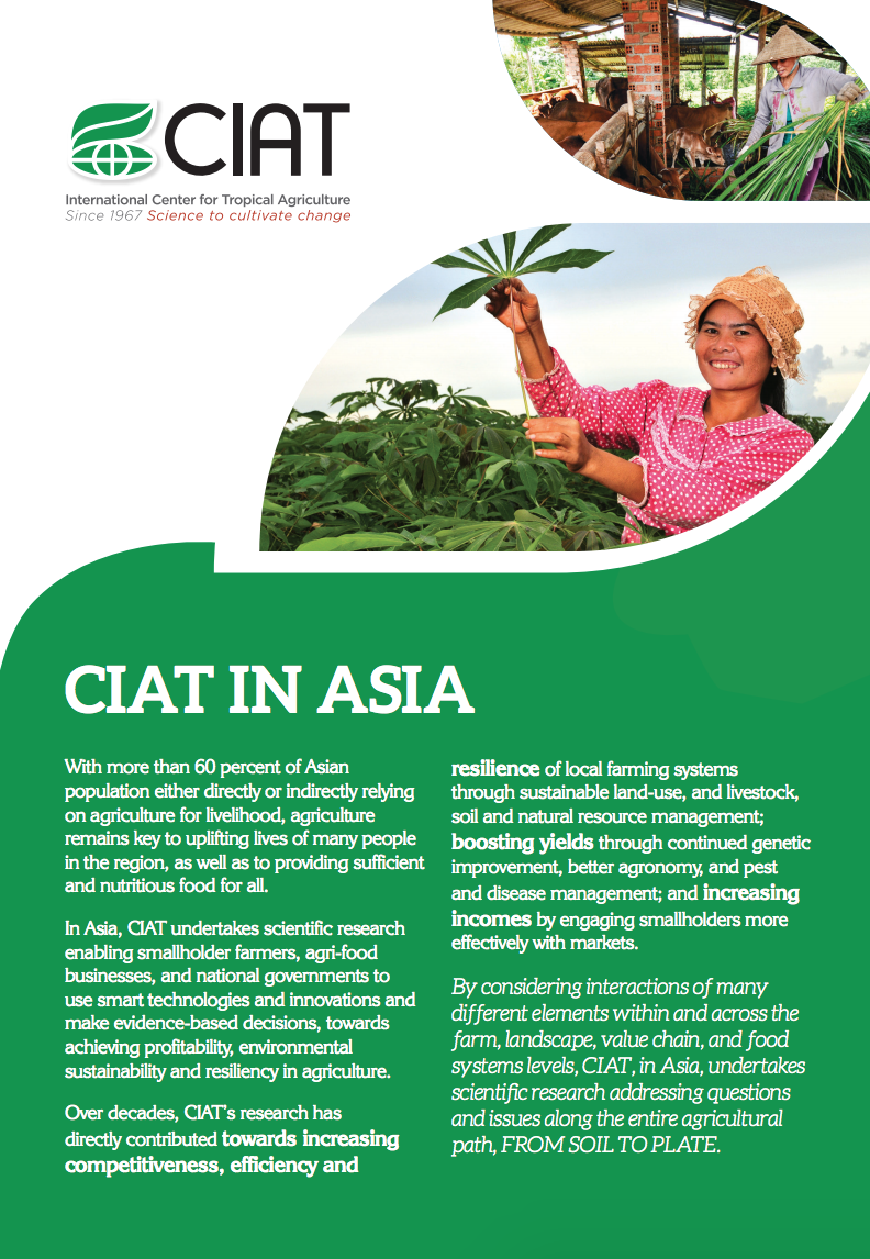 CIAT in Asia cover image
