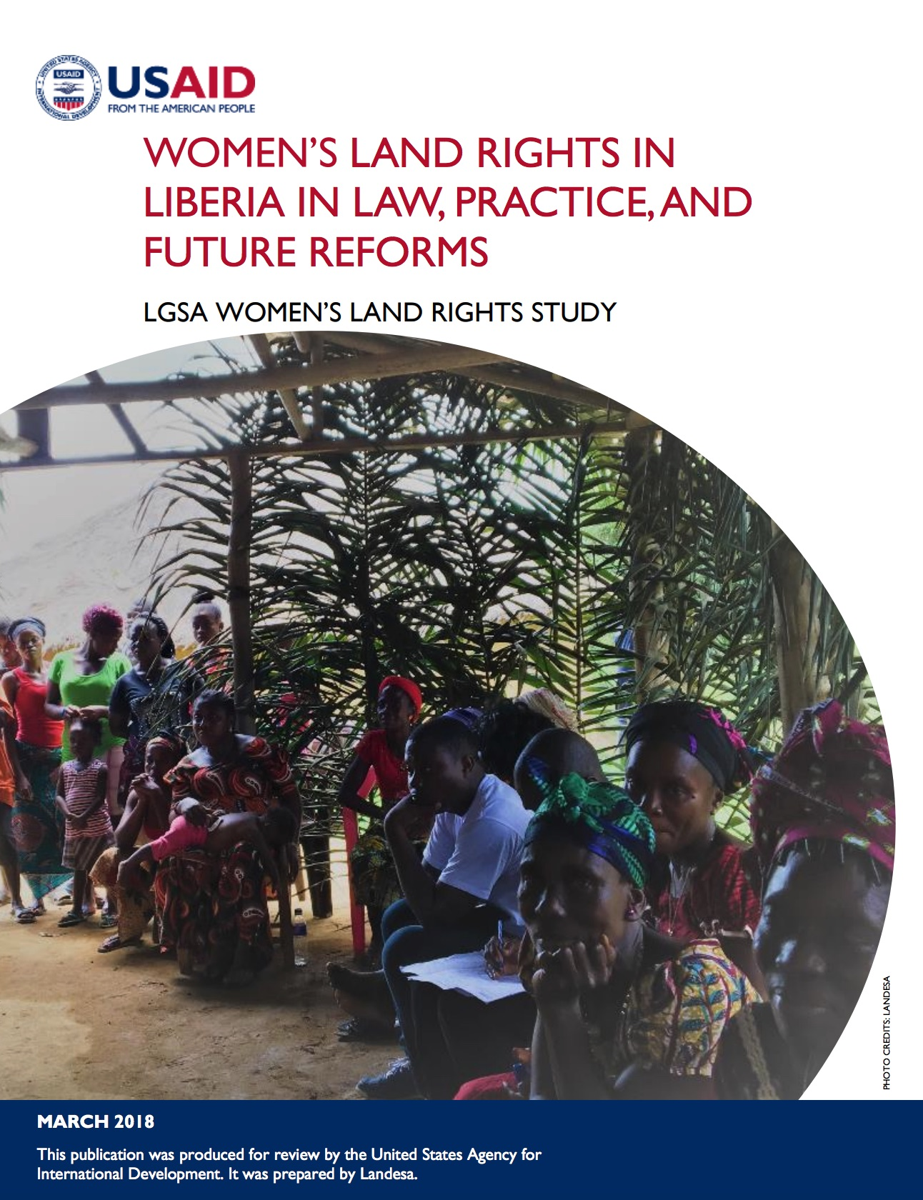 Women's Land Rights in Liberia in Law, Practice, and Future Reforms cover image