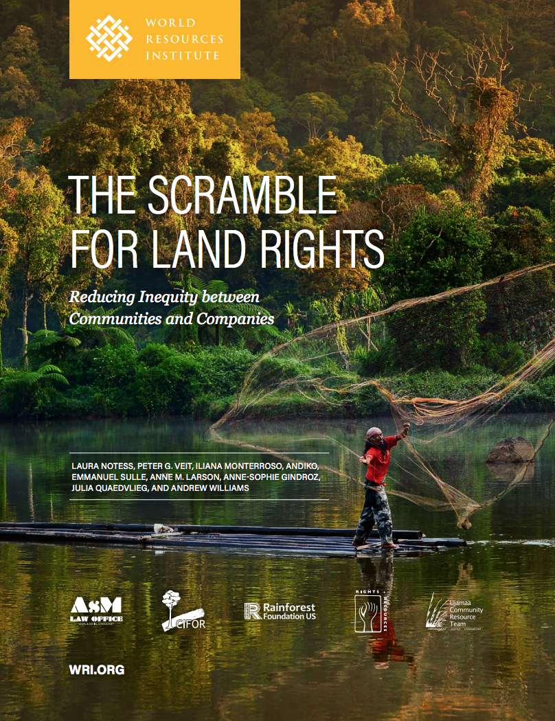 The Scramble for Land Rights cover image