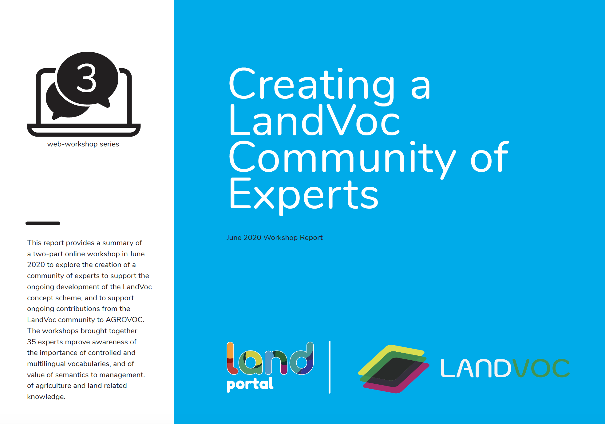LandVoc - Community of Experts Workshop