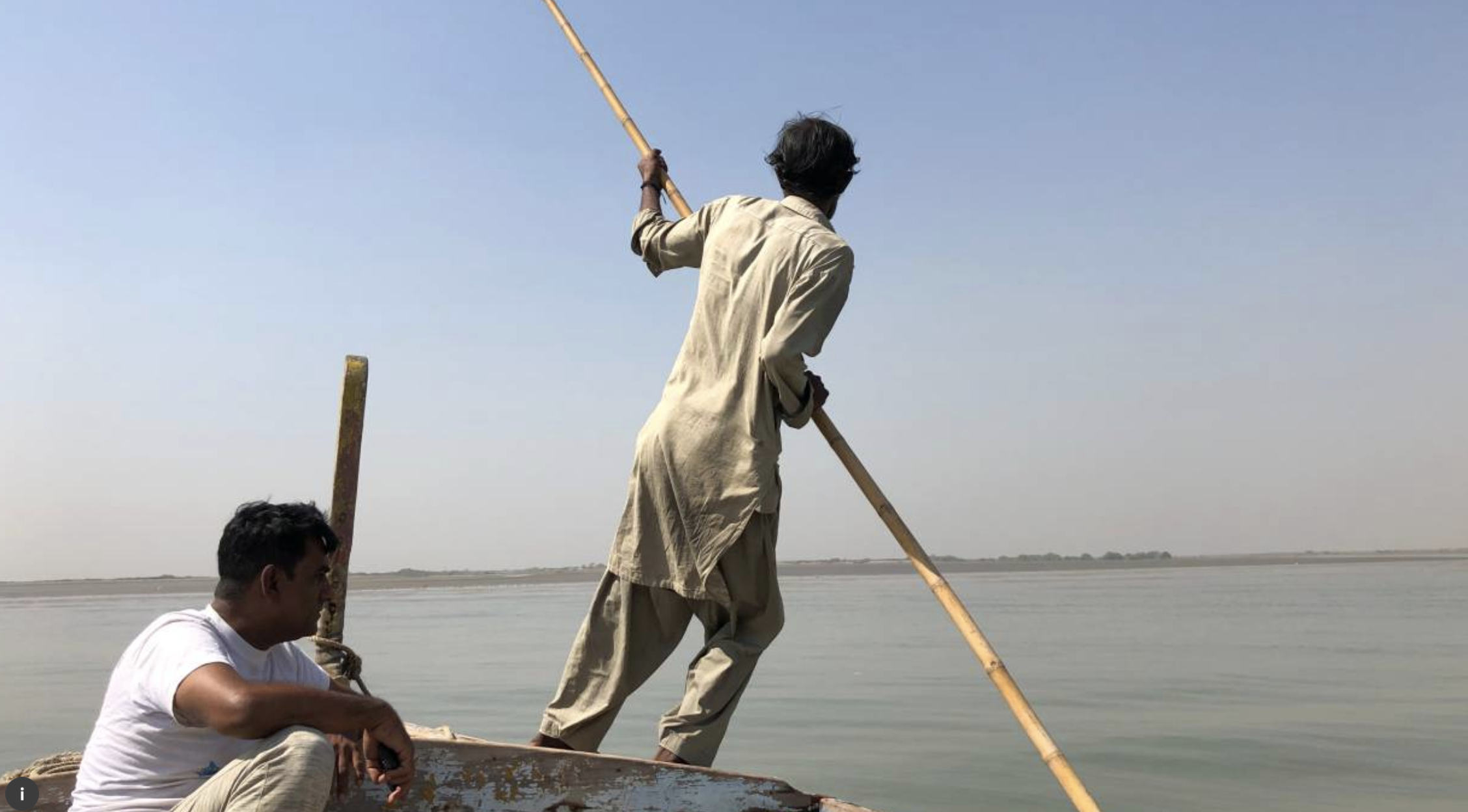 Pakistani fishermen fear a 'new Dubai' could empty their nets