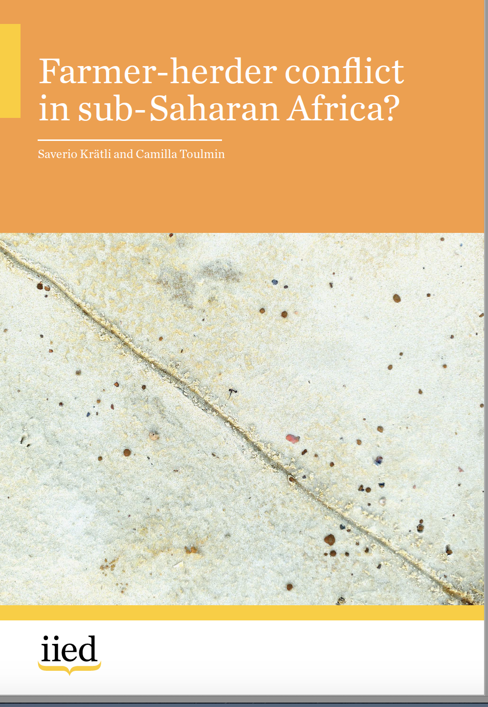 Farmer-herder conflict in sub-Saharan Africa?
