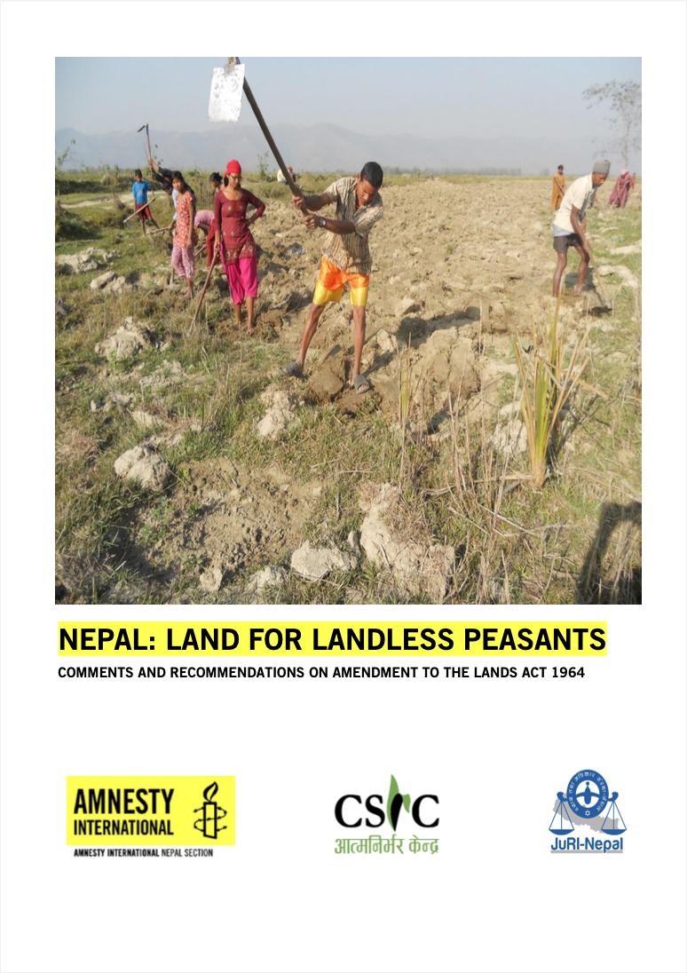 Nepal: Land for Landless Peasants