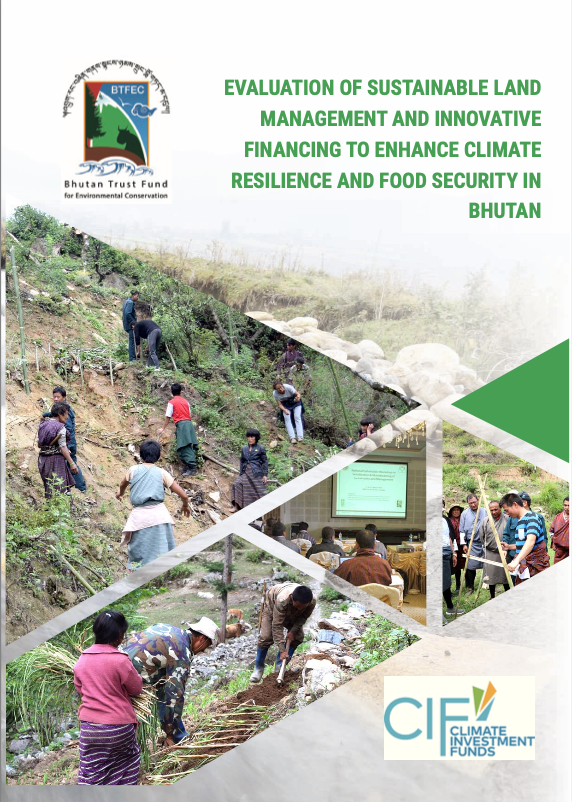 Evaluation of Sustainable Land Management and Innovative Financing to Enhance Climate Resilience and