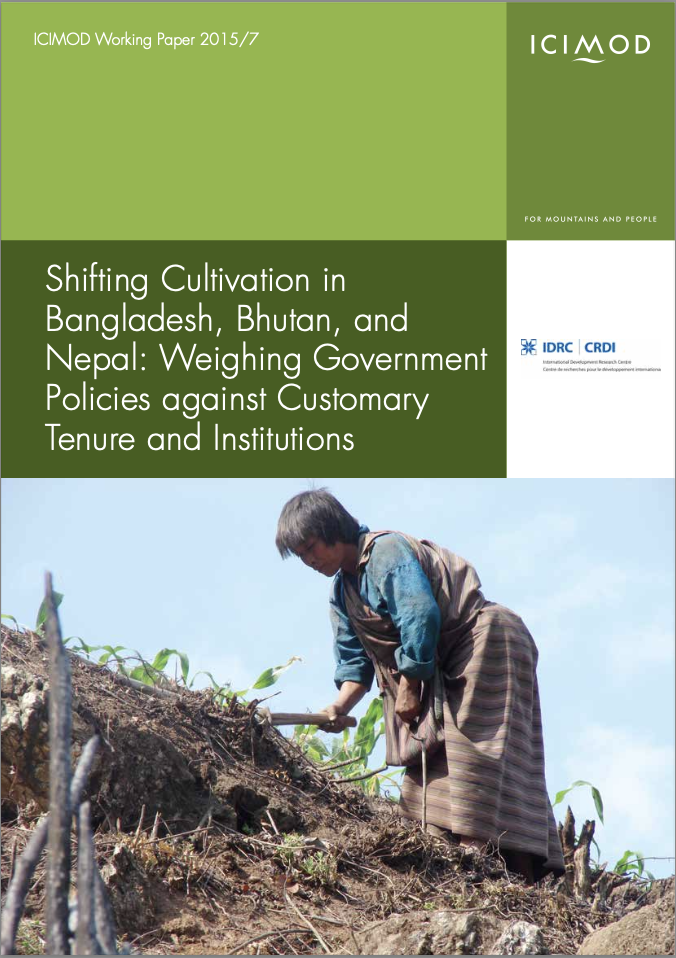 Shifting Cultivation in Bangladesh, Bhutan, and Nepal