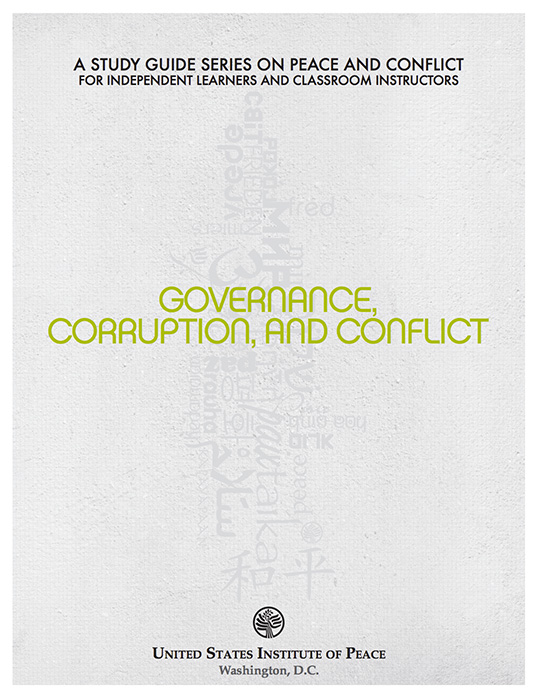 Governance, Corruption, and Conflict cover image