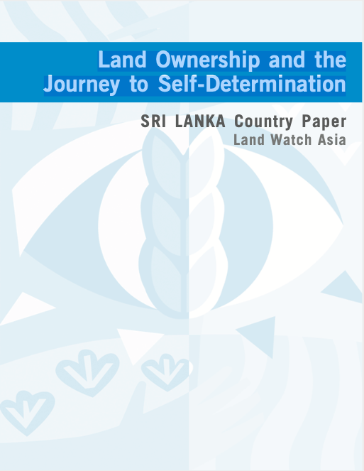 Land Ownership and the Journey to Self-Determination