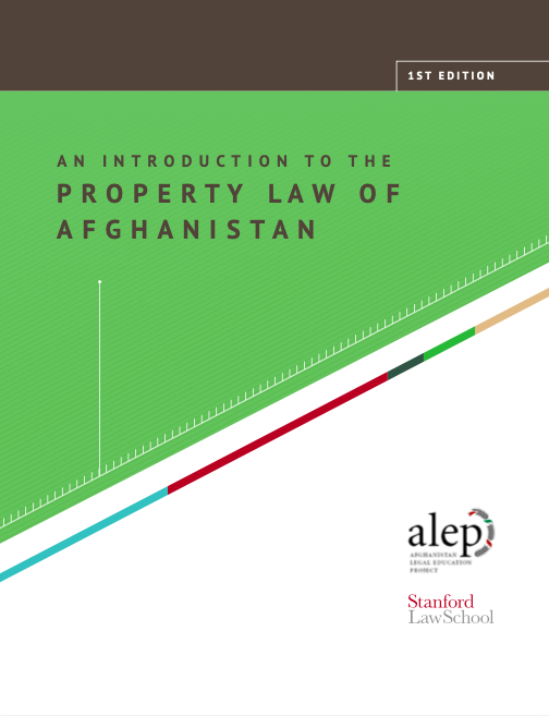 An Introduction to the Property Law of Afghanistan