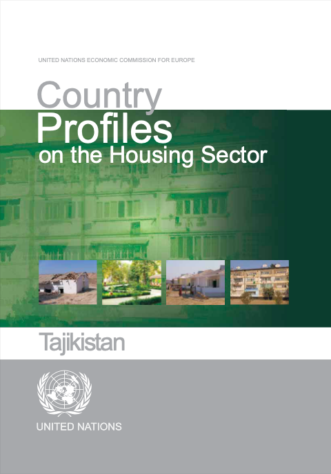 Country Profiles on the Housing Sector - Tajikistan