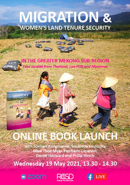Online book launch: Migration and Women's Land Tenure Security in the Greater Mekong Sub-region