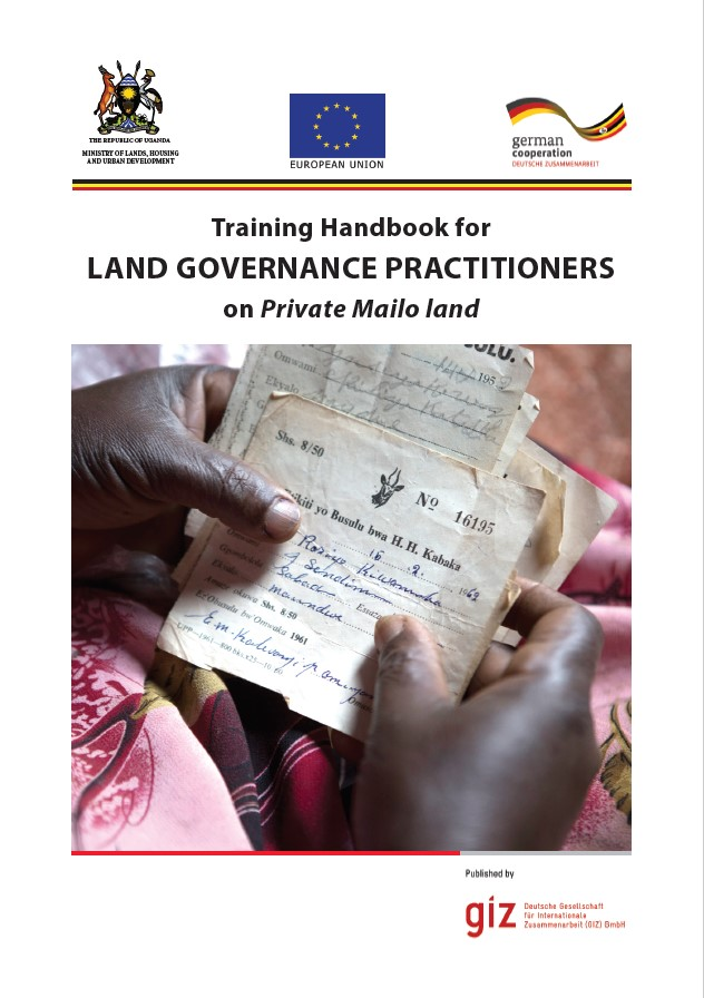 Training Handbook for Land Governance Practitioners on Private Mailo land