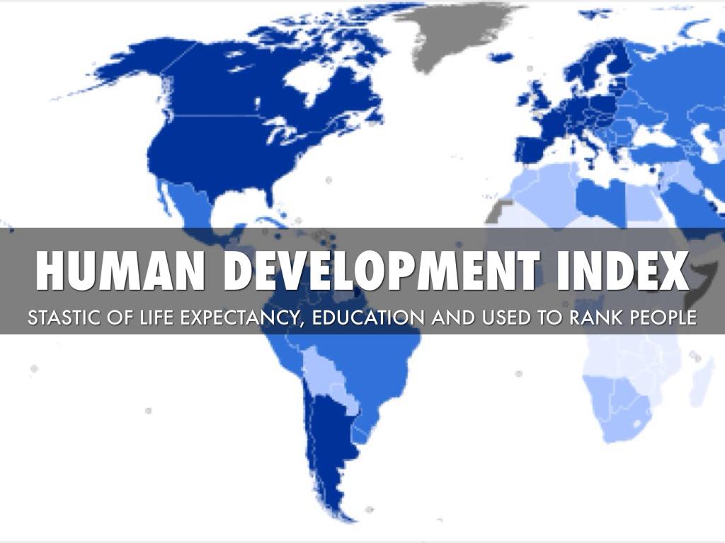 UNDP - Human Development Index