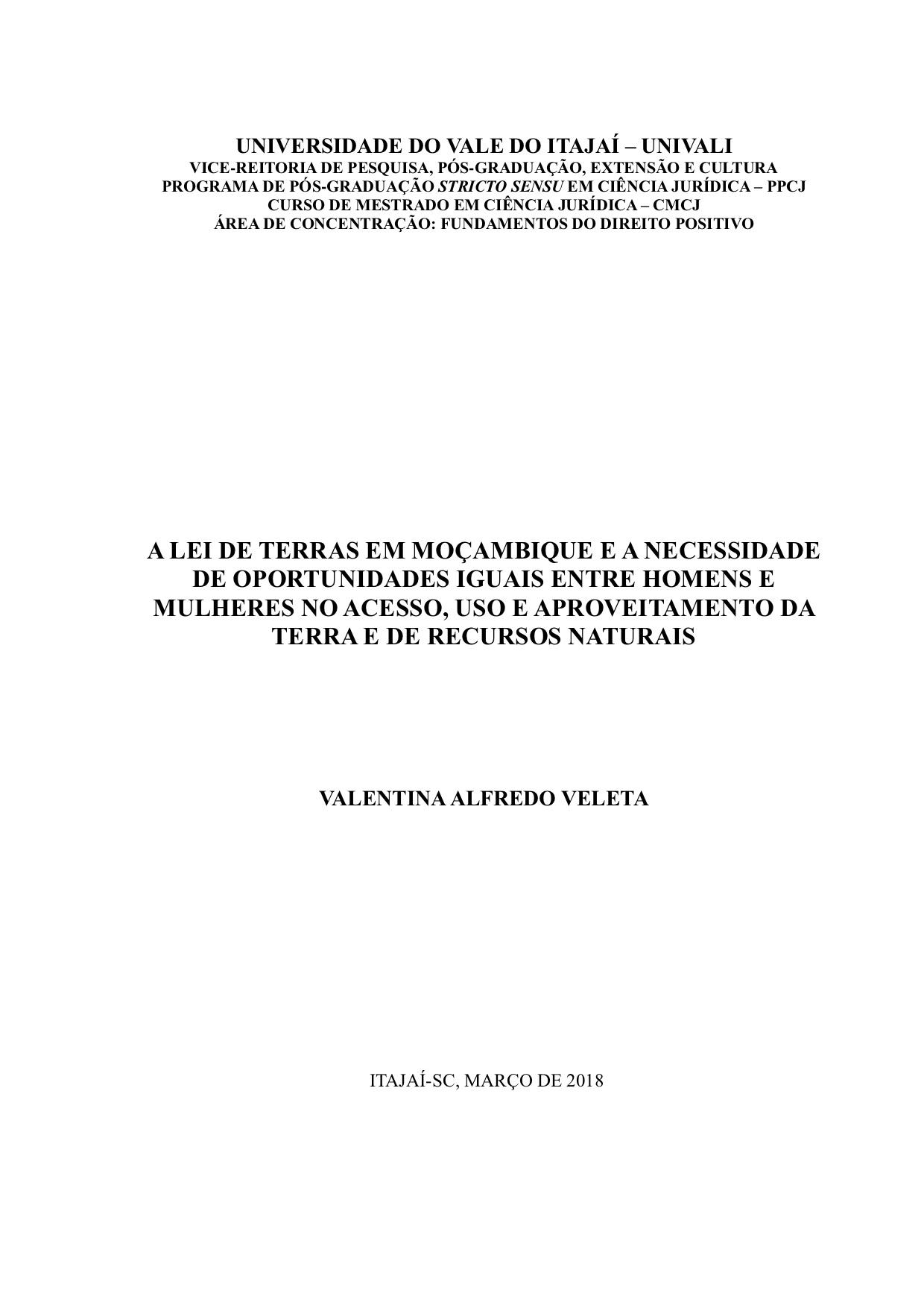 Valentina Alfredo Veleta