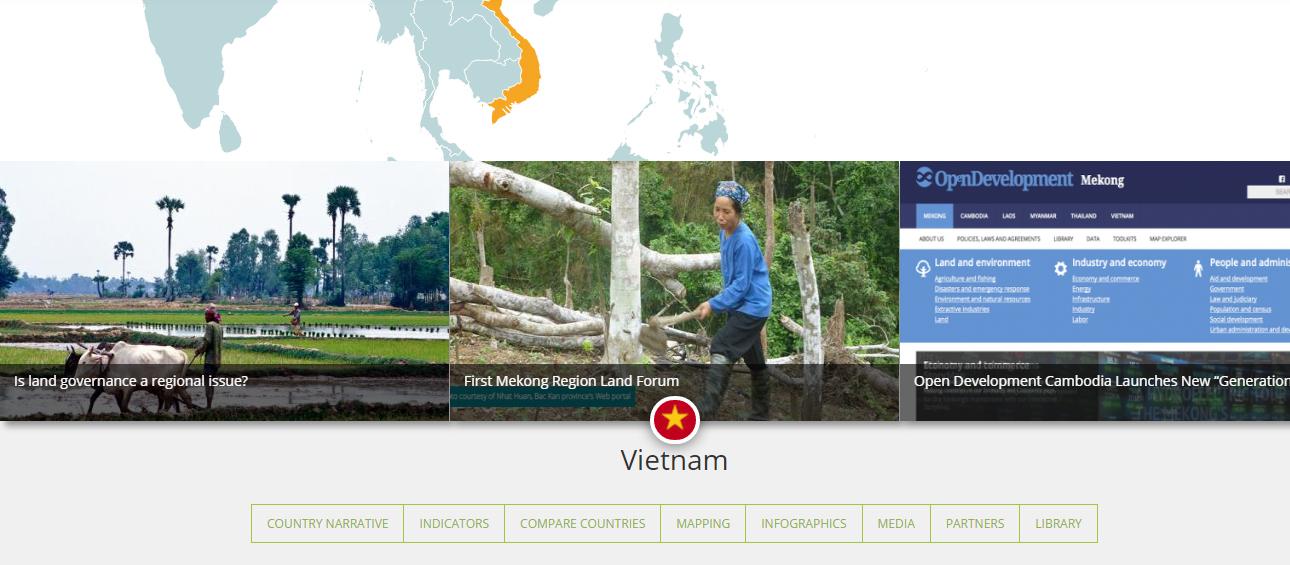Vietnam Country Portfolio Land Rights Land Tenure Land Grabbing Open Data