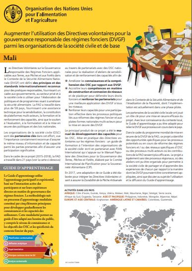 directives volontaires_mali