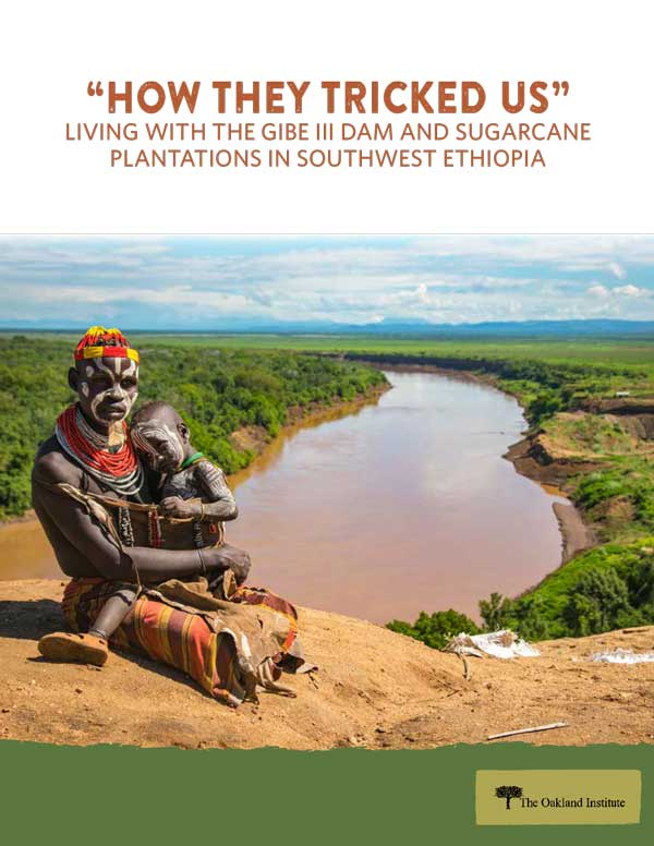 """HOW THEY TRICKED US"" LIVING WITH THE GIBE III DAM AND SUGARCANE PLANTATIONS IN SOUTHWEST ETHIOPIA"
